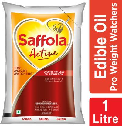 Saffola Active Pro Weight Watchers Edible Oil
