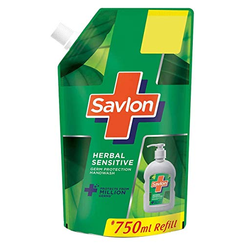 Savlon Herbal Sensitive pH balanced Liquid Handwash