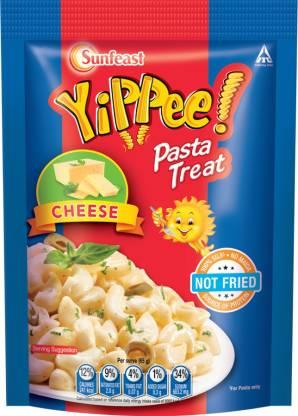 Sunfeast YiPPee! Pasta Treat | Cheesy & Soft Suji, Rawa Pasta, 65g pack