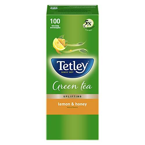 Tetley Green Tea Bags with Lemon & Honey