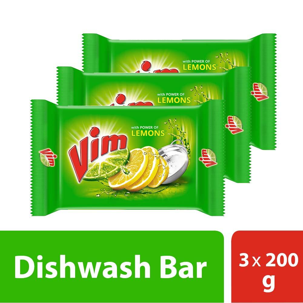 Vim Dishwash Bar Lemon