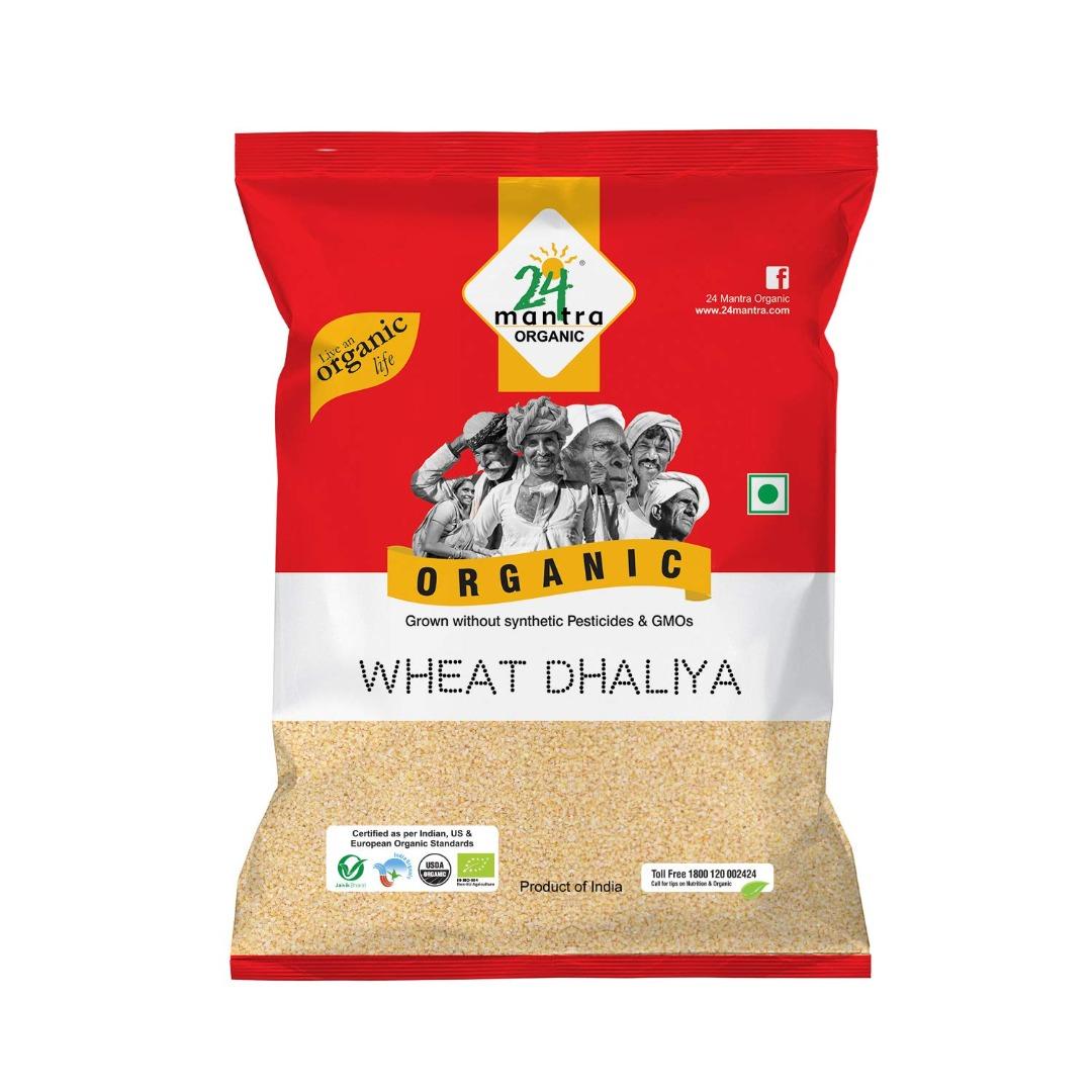 24 Mantra Wheat Daliya