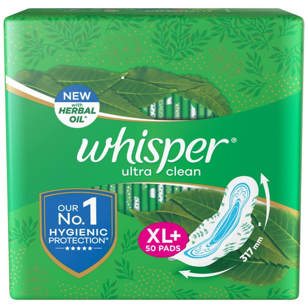 Whisper Ultra Clean Sanitary Pads For Women