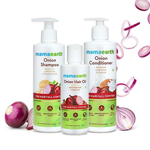 MamaEarth Anti-Hair Fall Spa Kit