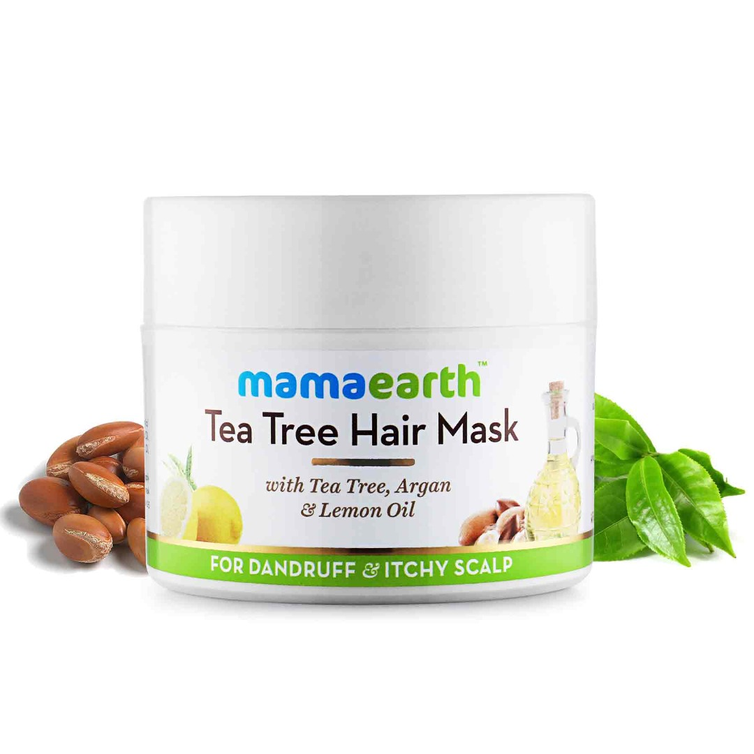 MamaEarth Tea Tree Anti D&ruff Hair Mask