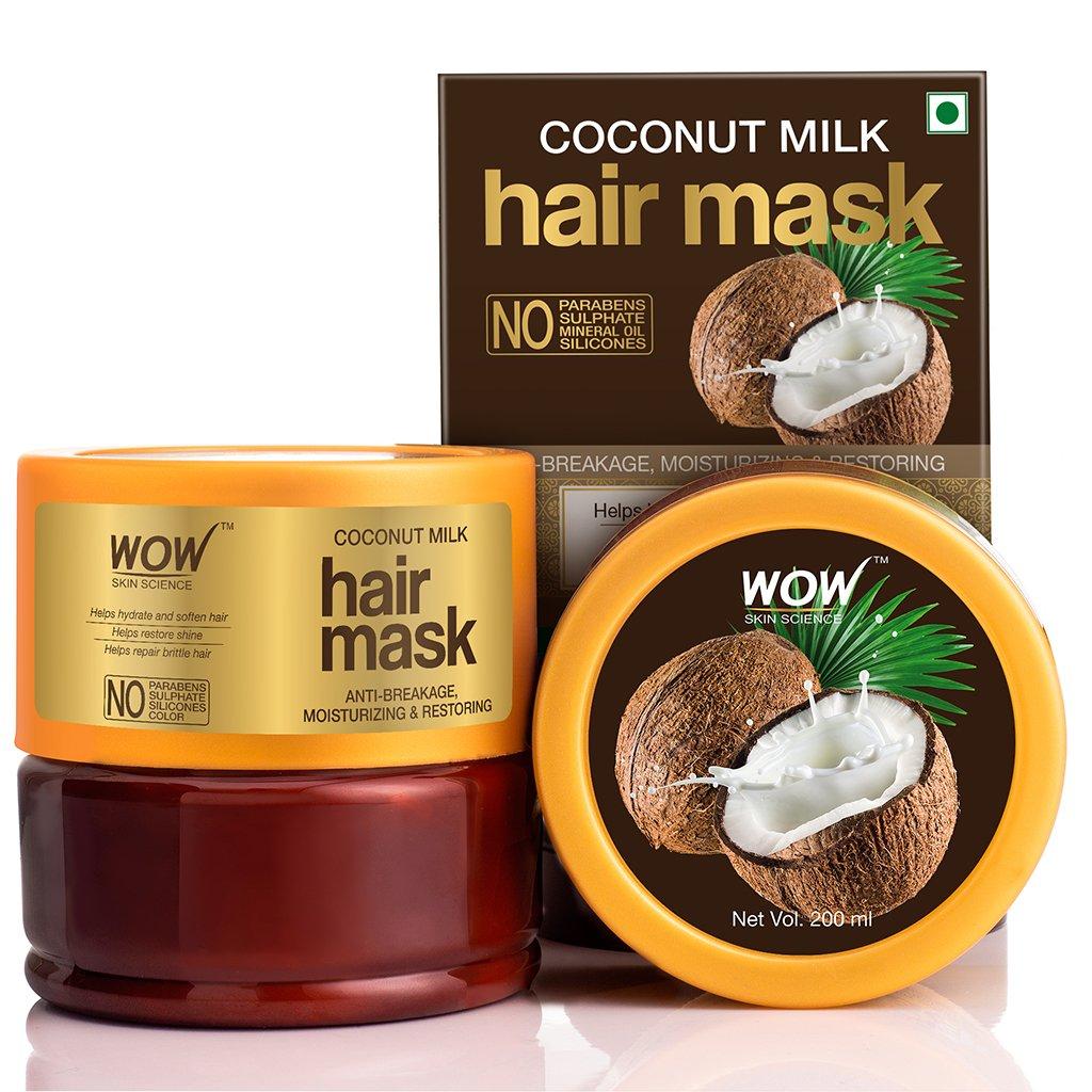 Wow Coconut Milk Hair Mask with Coconut Milk