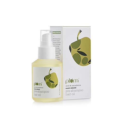 Plum Goodness Olive & Macadamia Nutri-Shield Pre-Shampoo Hair Oil