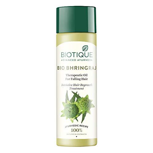 Bio Bhringraj Therapeutic Hair Oil For Falling Hair Intensive Hair Regrowth Treatment