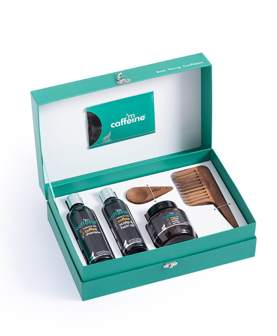 Mcaffeine Limited Edition Coffee Brew - Hair Care Gift Kit