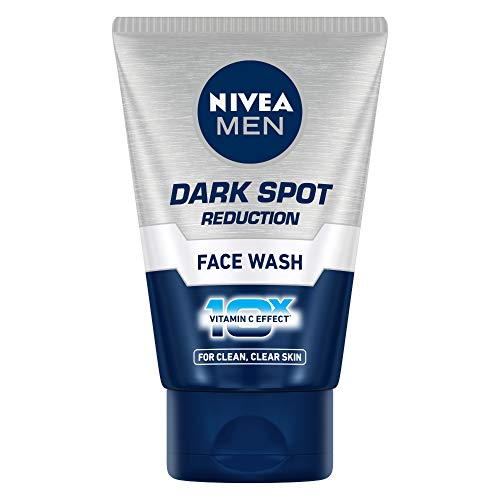 NIVEA Men Face Wash, Dark Spot Reduction, for Clean & Clear Skin with 10x Vitamin C Effect