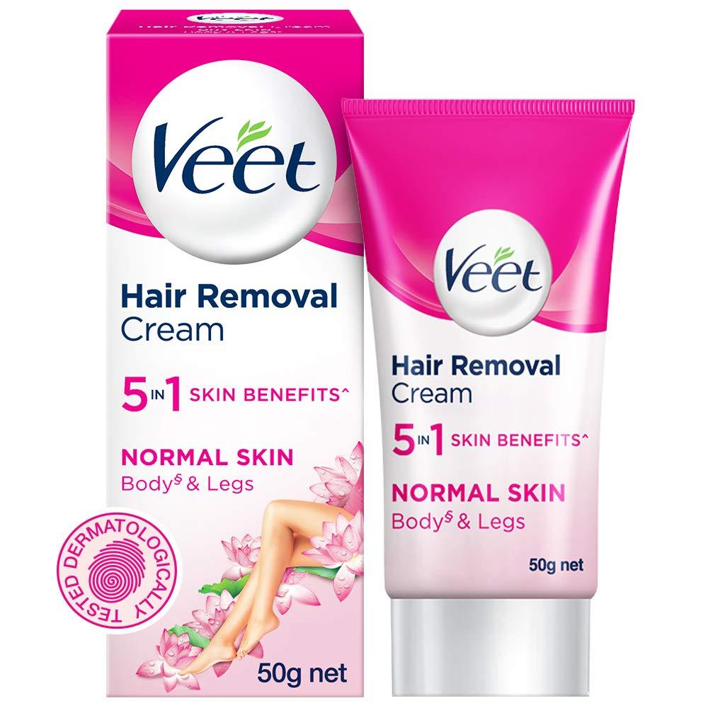 Veet Silk and Fresh Hair Removal Cream, Normal Skin
