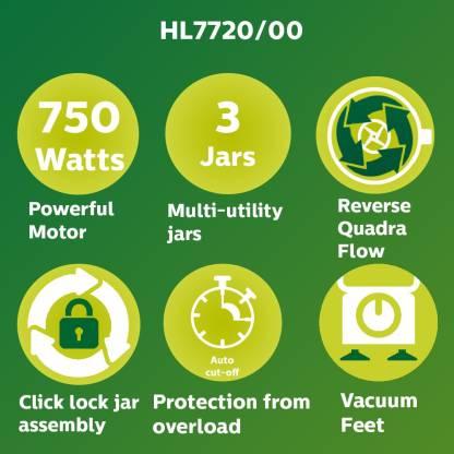 Philips Mixer Grinder - HL7720 - 750 Watt