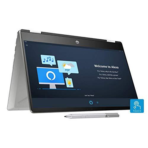 HP Pavilion 14 HD Laptop (i3, 4GB RAM, 256GB SSD, Windows 10, 14-inch (Model No. dh1006TU x360)