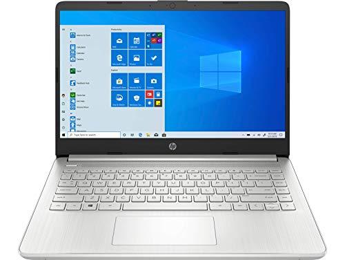HP 14 Ryzen 5 5500U 14-inch FHD Laptop with Alexa Built-in(8GB/512GB SSD/Windows 10/MS Office/Natural Silver/1.46Kg), 14s-fq1030AU