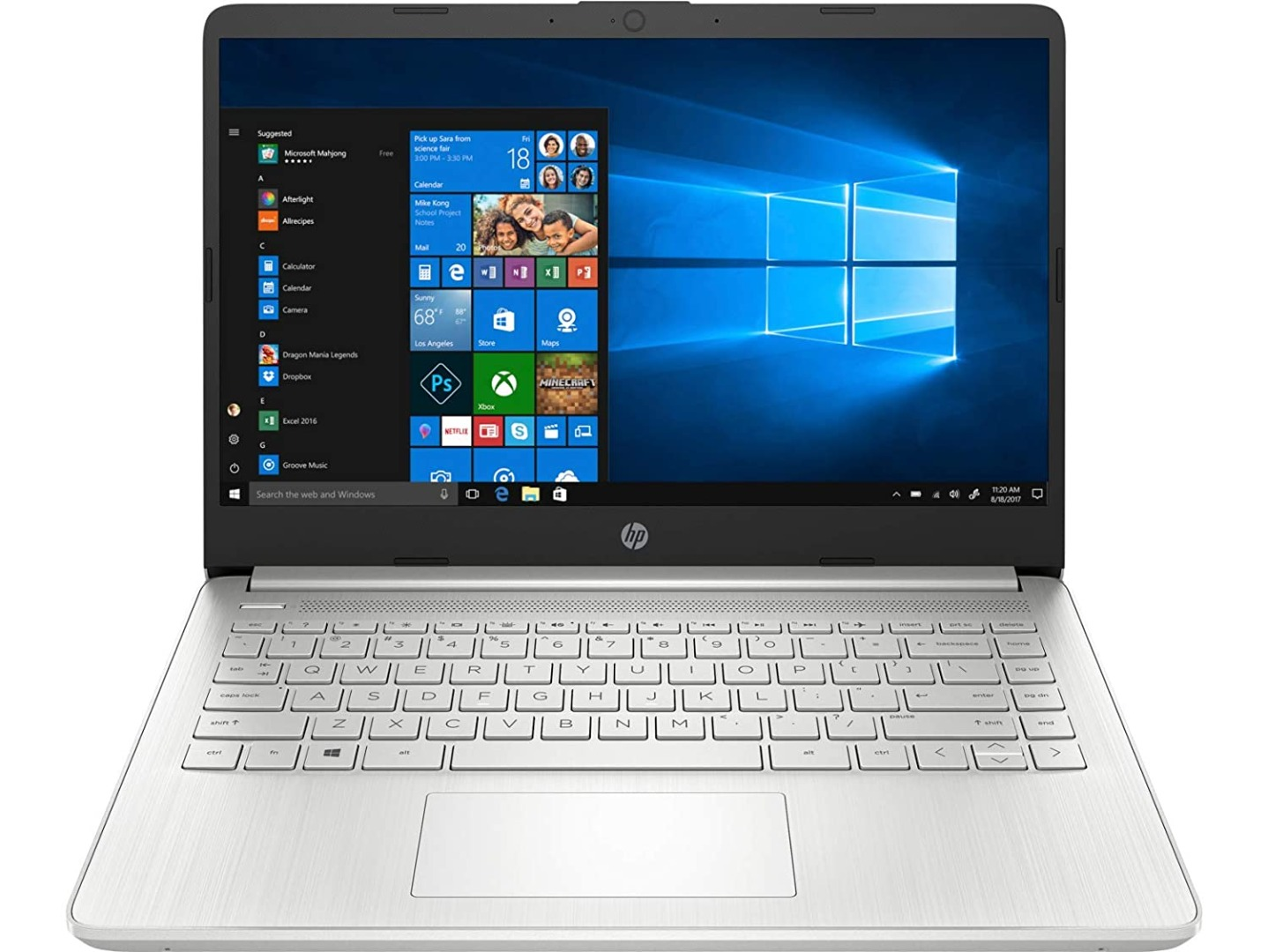 HP 14 11th Gen Intel Core i5 Processor 14-inch(35.6 cm) FHD Laptop (8GB/512GB/Windows 10/MS Office/Natural Silver/1.46Kg), 14s-dr2016tu
