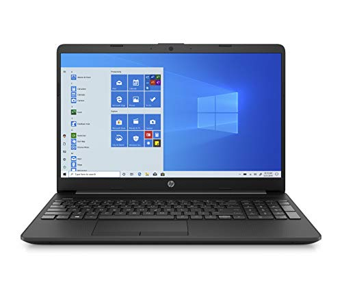 HP 15 10th Gen Intel Core i3 Thin & Light 15.6-Inch (39.62 cms) FHD Laptop (8GB/1TB HDD/M.2 Slot/Windows 10/MS Office/Jet Black), 15s-du1066TU