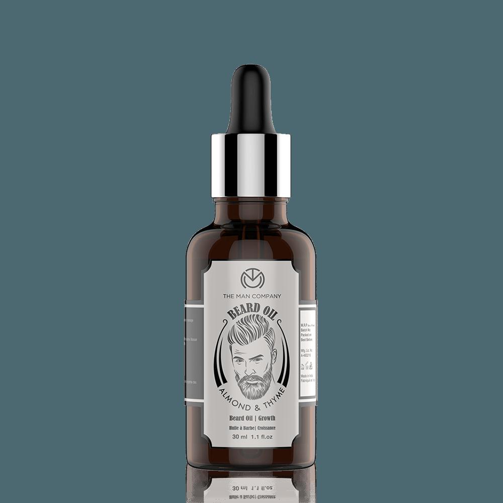 The Man Company Almond & Thyme Beard Oil