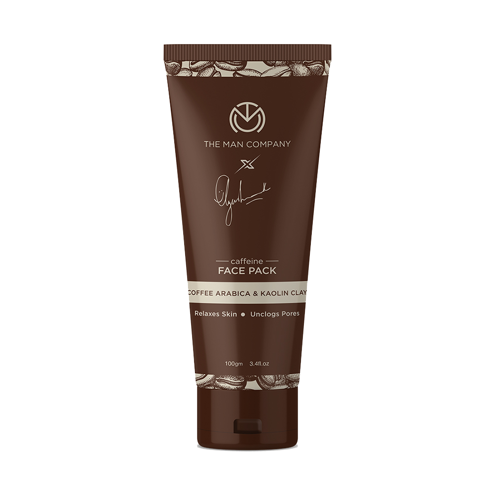 The Man Company Coffee Arabica & Kaolin Clay Caffeine Face Pack