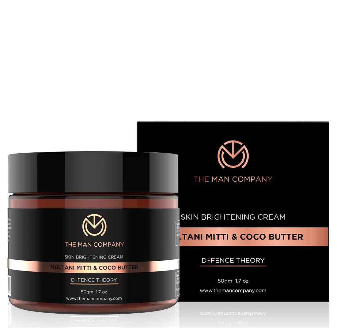 The Man Company Multani Mitti & Coco Butter Skin Brightening Cream