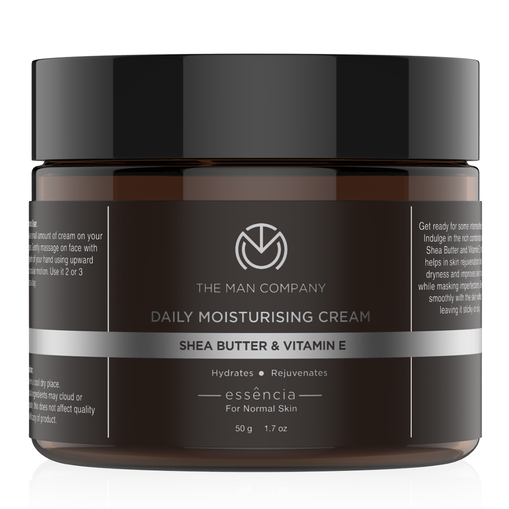 The Man Company Shea Butter And Vitamin E Moisturising Cream