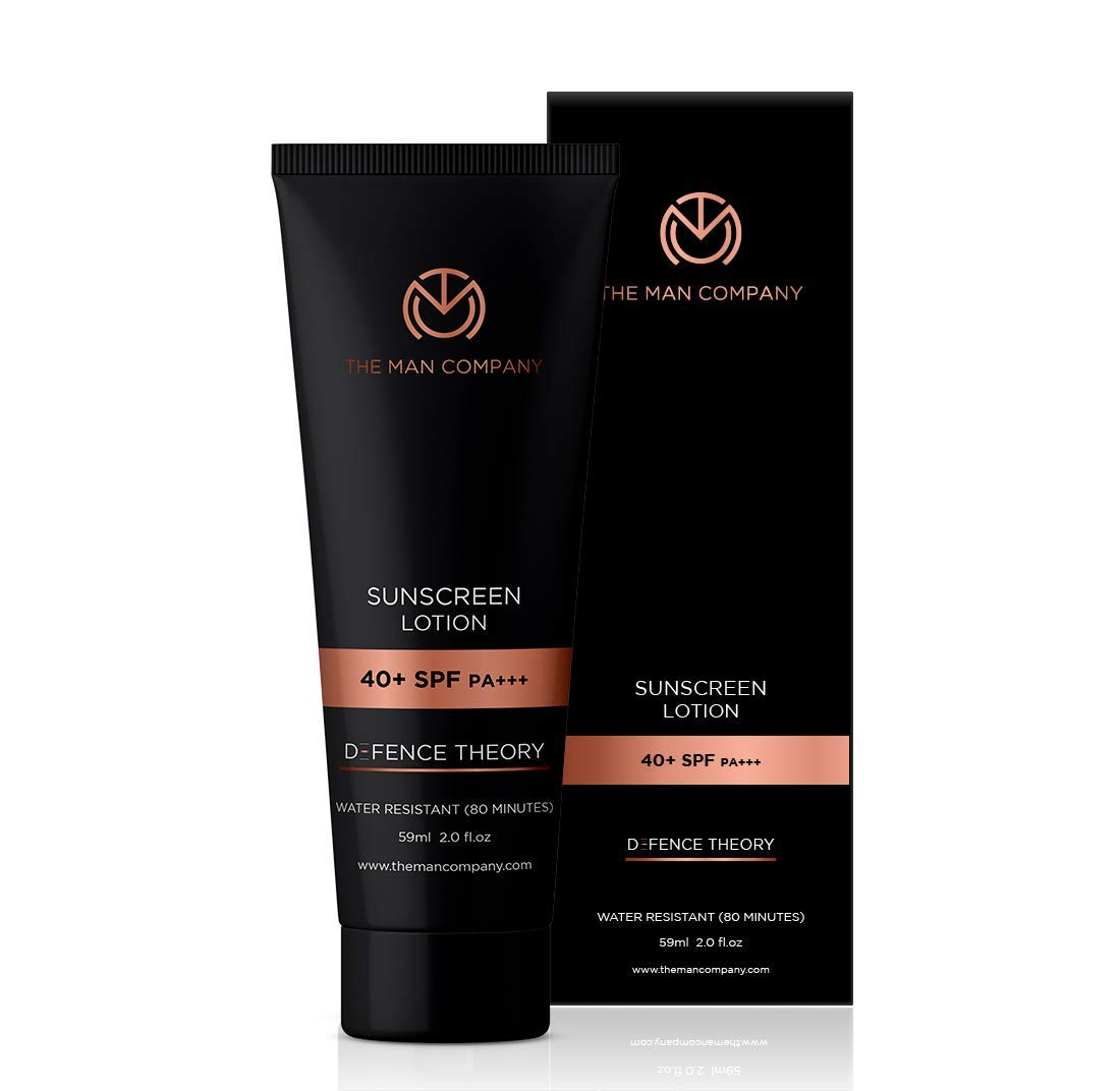 The Man Company Sunscreen Lotion, 40+ Spf Pa+++