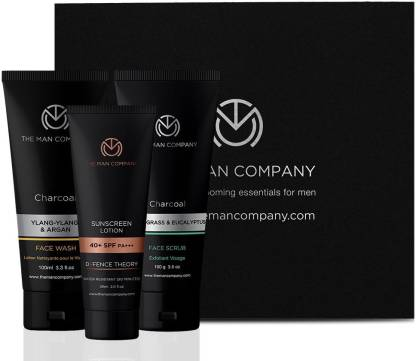 The Man Company The Man Company De-Tan Deep Ritual - Sunscreen Lotion + Face Scrub + Face Wash