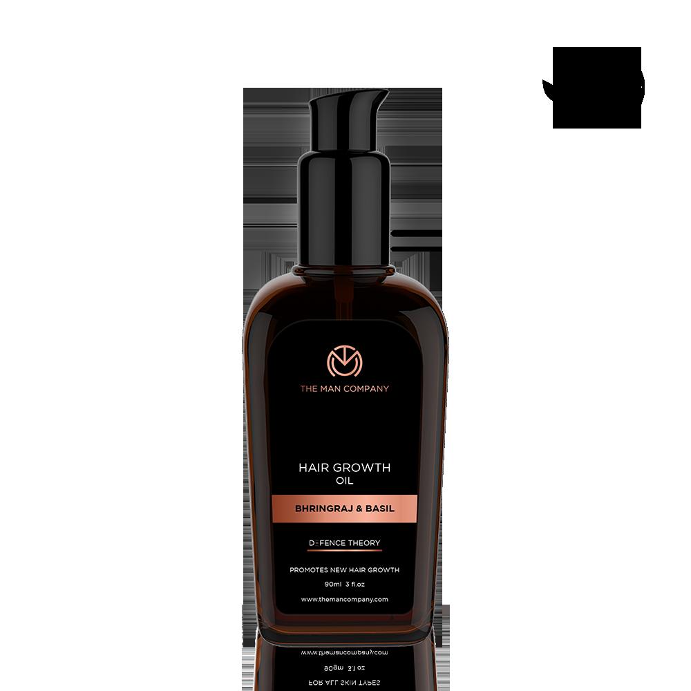 The Man Company The Man Company Hair Growth Oil with Bhringraj & Basil