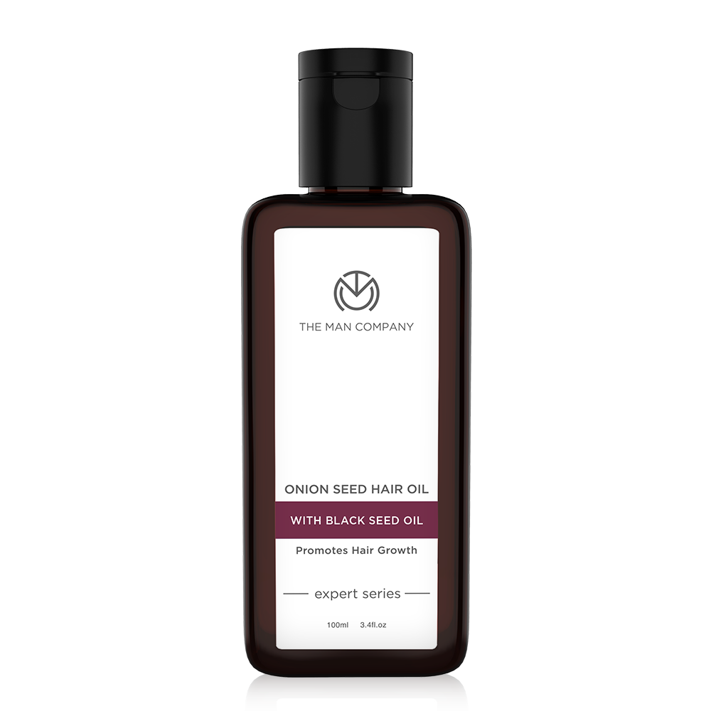 The Man Company Onion Seed Oil with Black Seed Oil