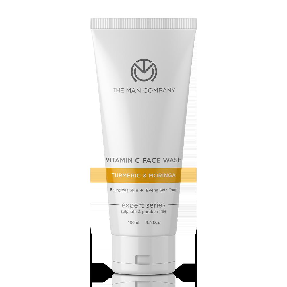 The Man Company Turmeric & Moringa Vitamin C Face Wash