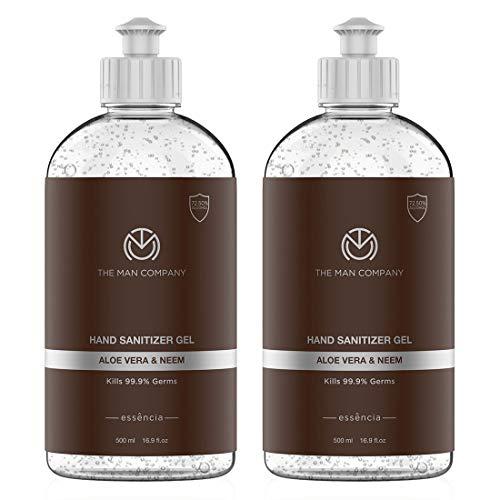 The Man Company Aloe Vera & Neem Hand Sanitizer