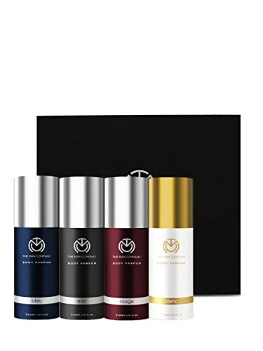 The Man Company Body Perfume, Pack of 4