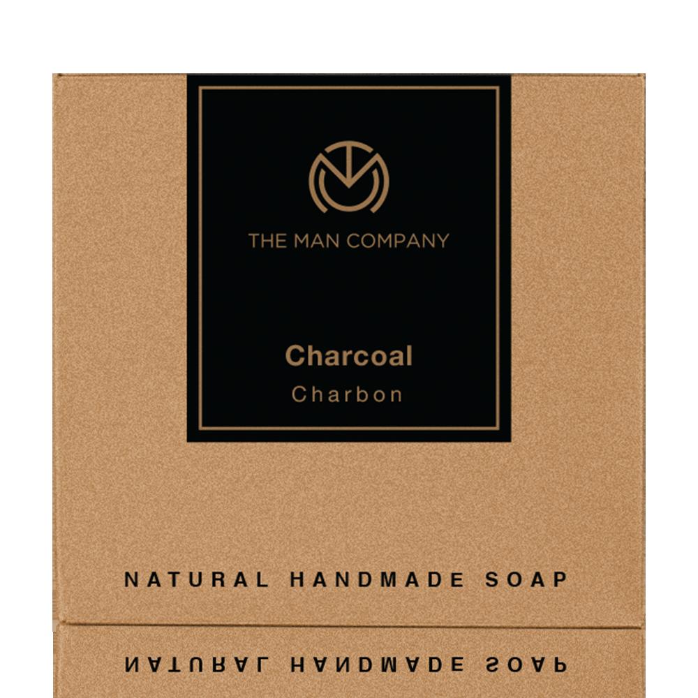 The Man Company Charcoal Soap Bar