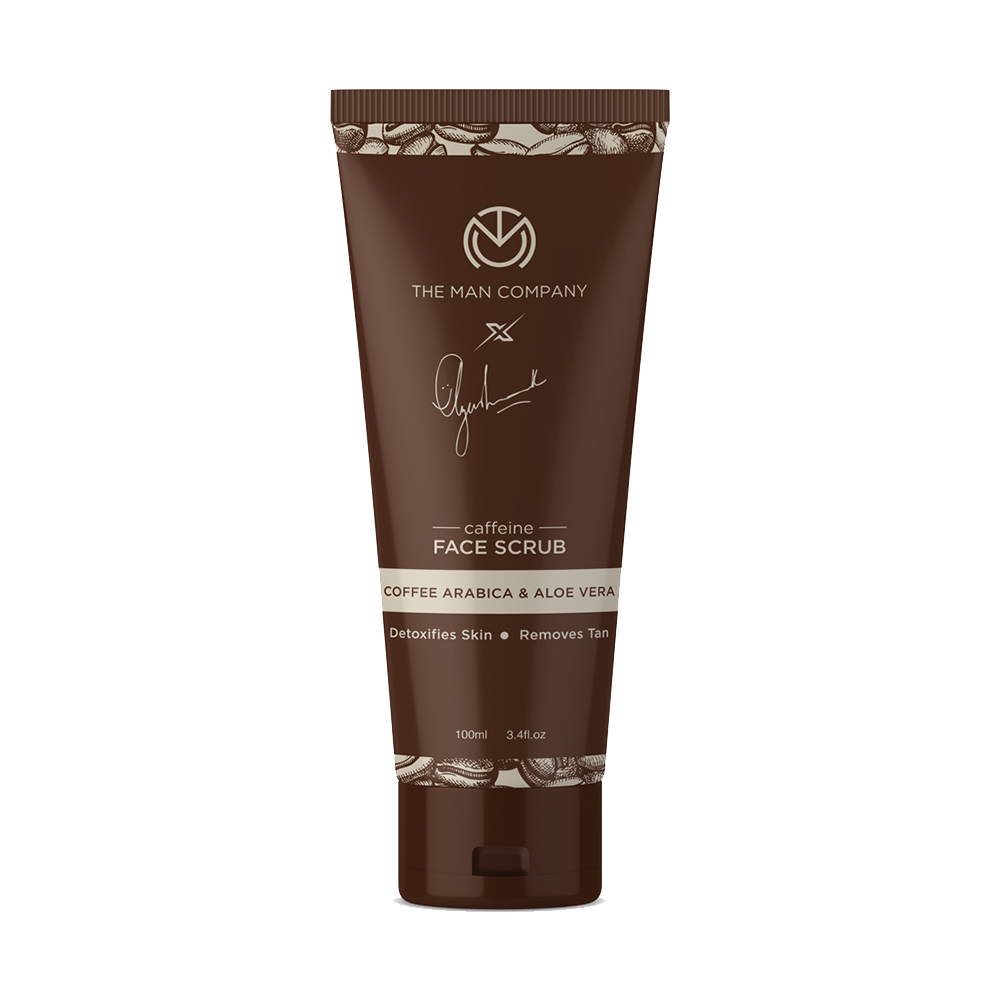 The Man Company Coffee Arabica & Aloe Vera Caffeine Face Scrub