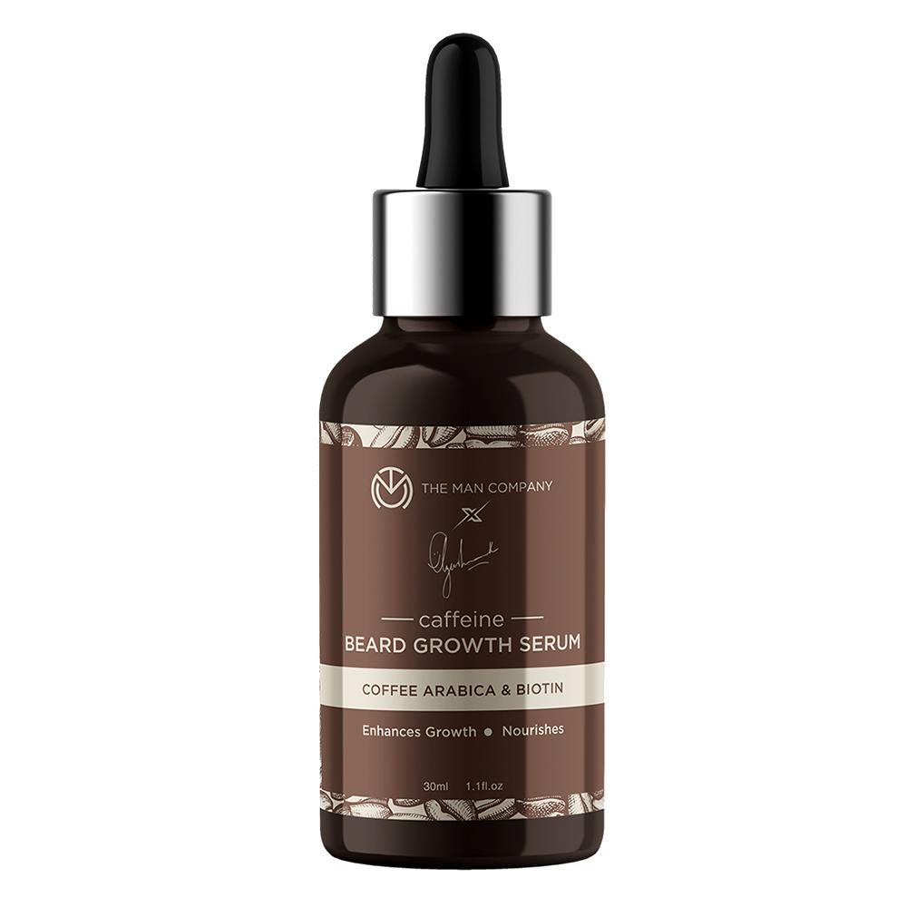The Man Company Coffee Arabica & Biotin Beard Growth Serum