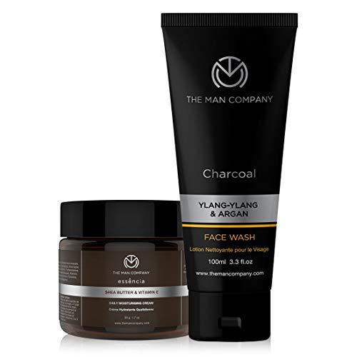 The Man Company De-Tan Daily Pack - Face Wash + Moisturising Cream