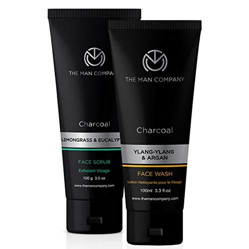 The Man Company De-Tan Power Combo - Face Scrub + Face Wash