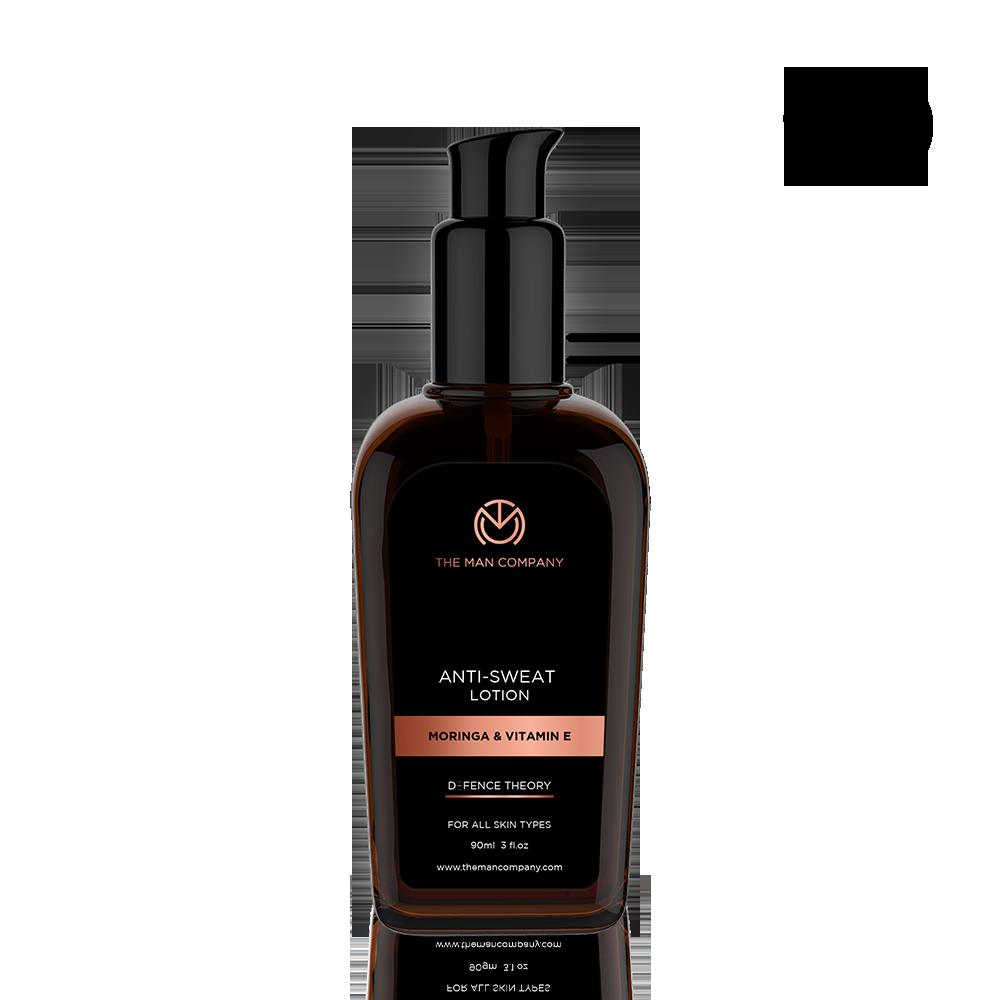 The Man Company Moringa & Vitamin E Anti-Sweat Lotion