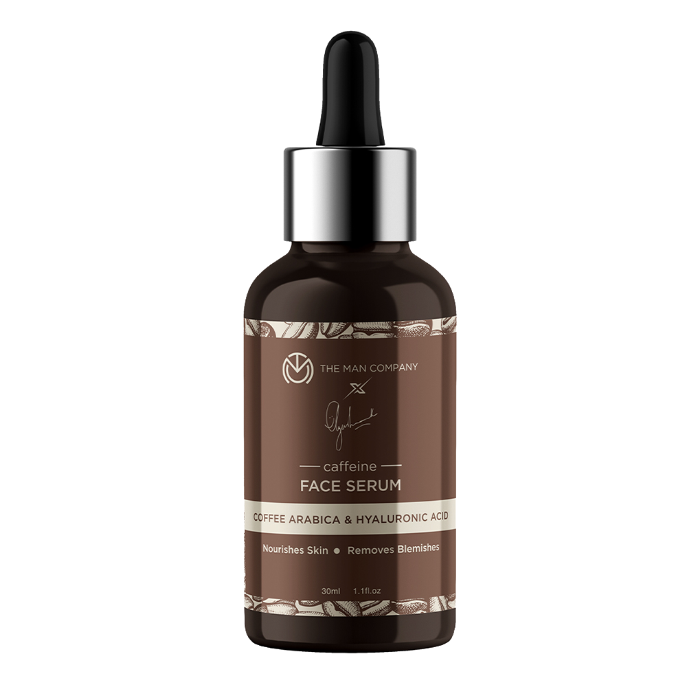 The Man Company Coffee Arabica & Hyaluronic Acid Caffeine Face Serum