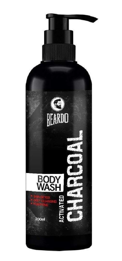 Beardo Activated Charcoal Bodywash for Men