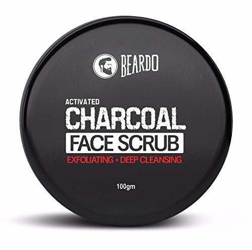 Beardo Activated Charcoal Exfoliating Face Scrub