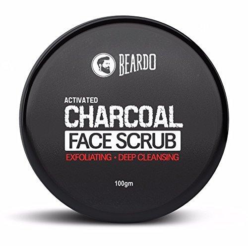 Beardo Activated Charcoal Exfoliating Face Scrub