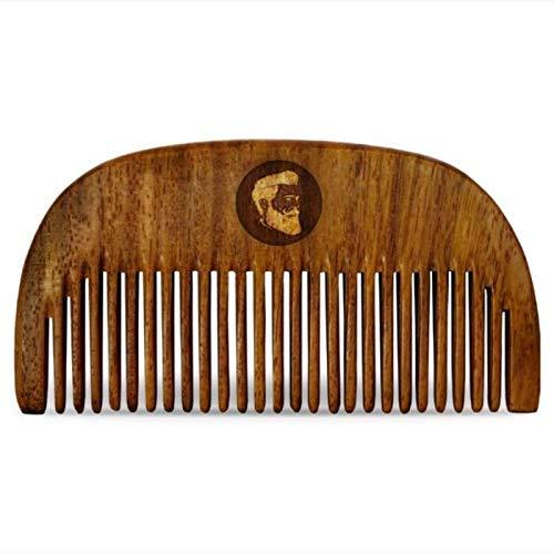 Beardo Compact Sheesham Wooden Pocket Comb for Men