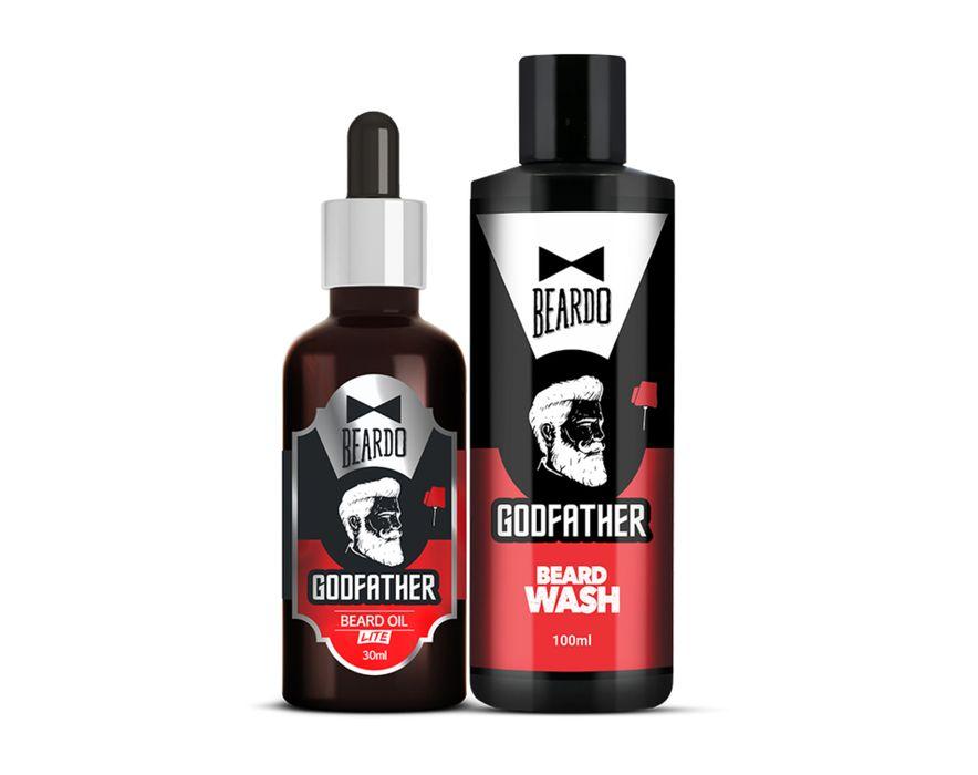 Beardo Godfather Beard Oil & Beard wash Combo