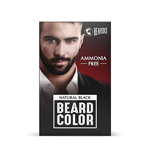 Beardo Natural Black Beard Color for Men