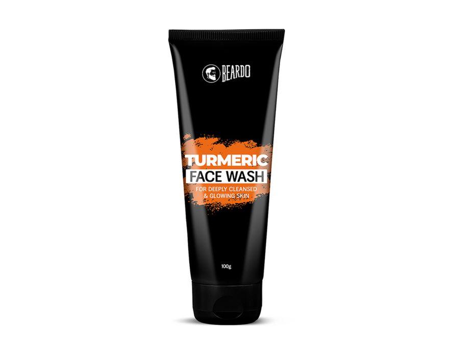 Beardo Turmeric Facewash for Men