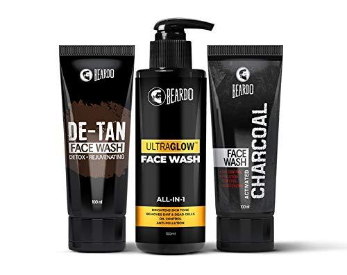 Beardo Ultimate Facewash Combo