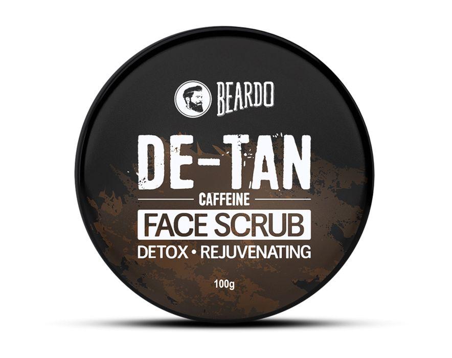 Caffeine De-Tan Face Scrub for Men