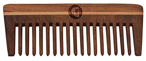 Shisham Wooden Beard Comb to reduce Hair Fall