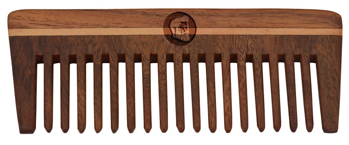 Beardo Shisham Wooden Beard Comb to reduce Hair Fall