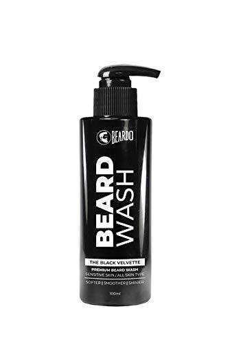 Beardo The Black Velvette Beard Wash -Sensitive Skin